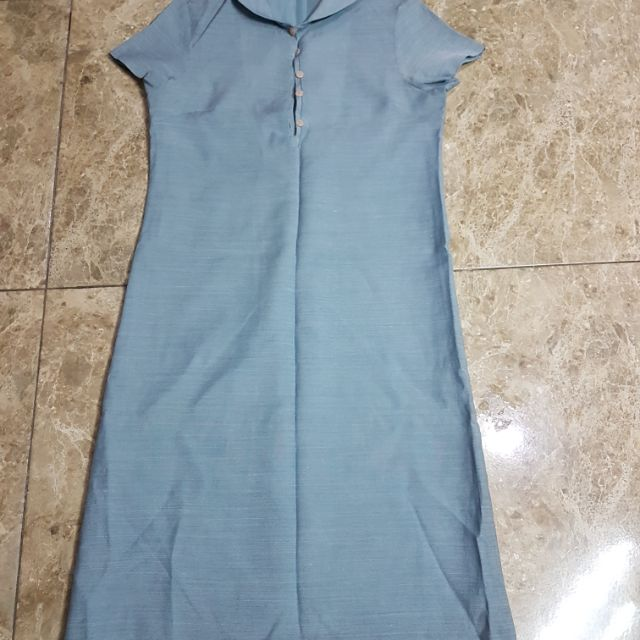 Thanh lý đầm xanh size S