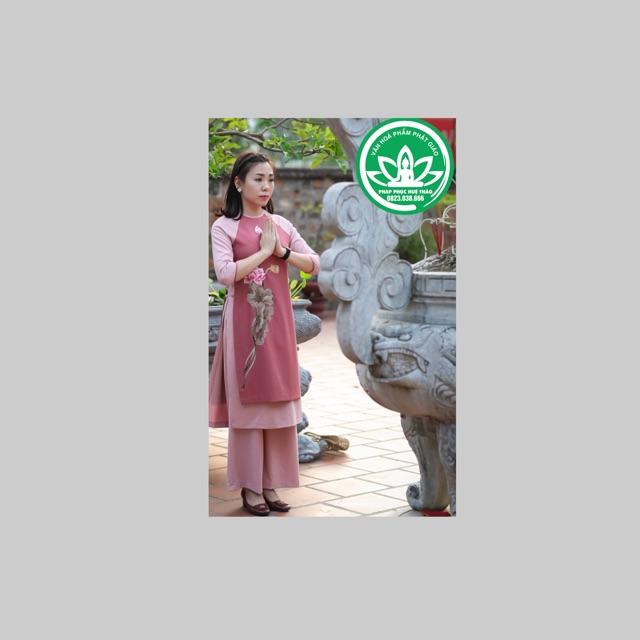 Thời trang Nữ -Áo dài cách tân cho Phật tử