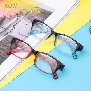 ROW Magnifying Print Flower Eye wear Ultra Light Resin +1.00~+4.0 Diopter Reading Glasses