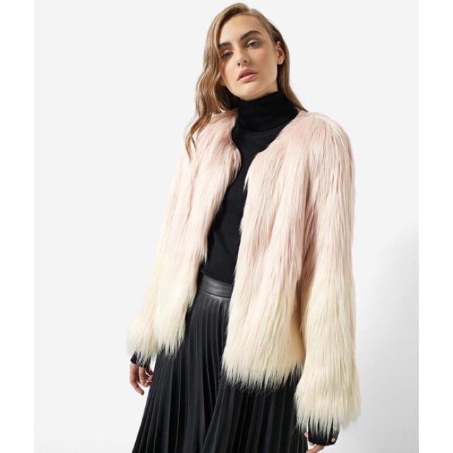 Áo lông stradivarius authentic, áo khoác lông, áo lông