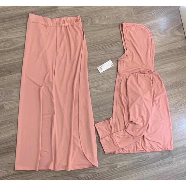 Chân váy quây chống nắng chất làm mát