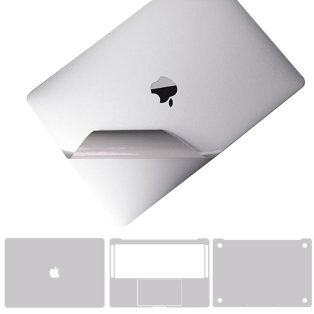 [Mã ELCLXU8 hoàn 8% xu đơn 500K] Dán toàn thân JRC 4in1 cho Macbook màu bạc (đủ dòng)