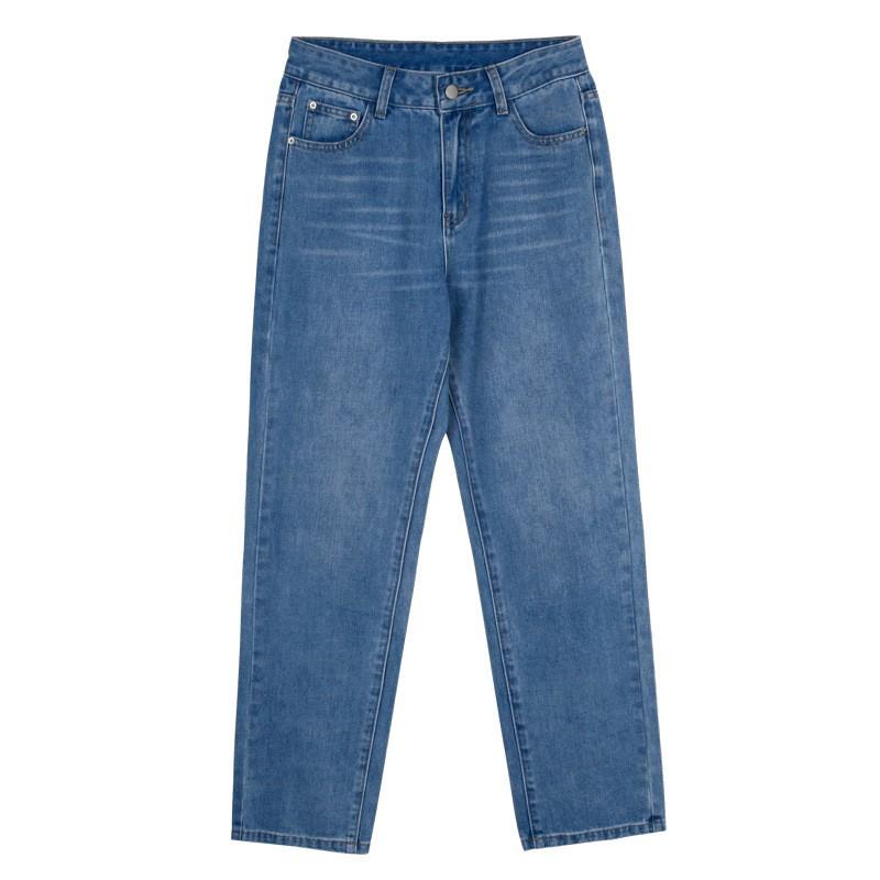 Quần Jeans Nữ Lưng Cao Thời Trang Hàn Quốc Xinh Xắn