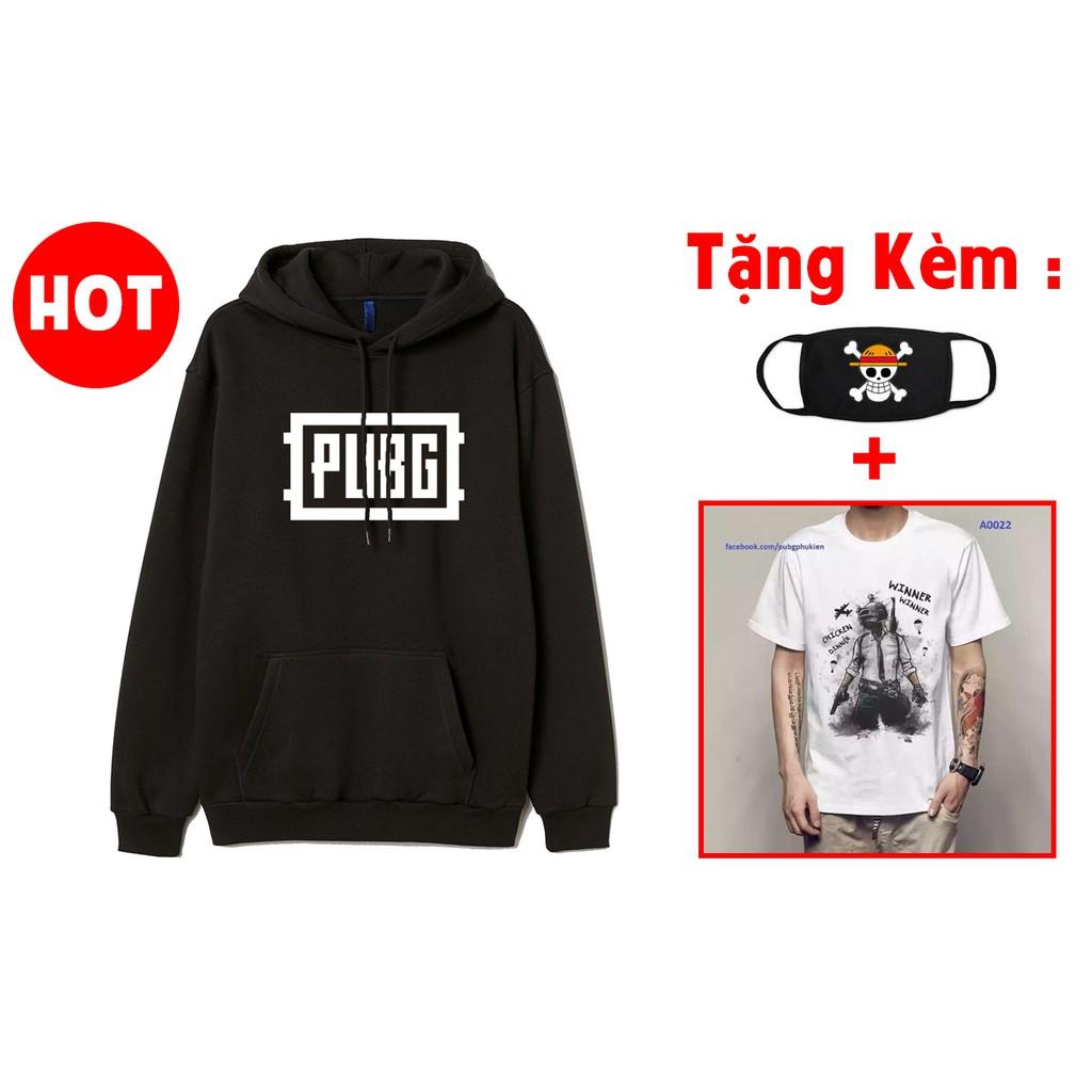 FLASH SALE Mẫu áo hoodie áo khoác PUBG đẹp siêu ngầu HOT nhất
