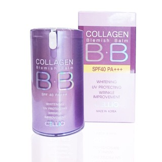 Kem Nền BB Collagen Cellio 40ml No 21