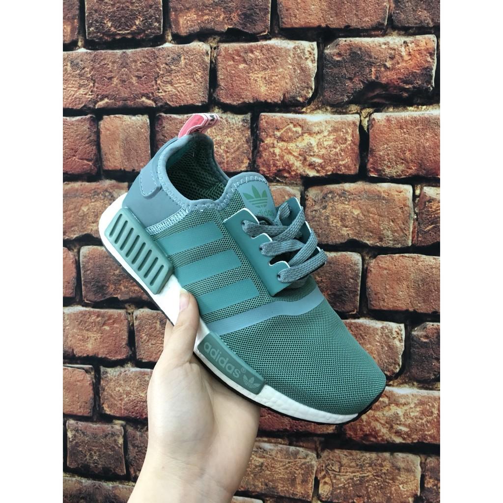 giày nmd xanh ngọc