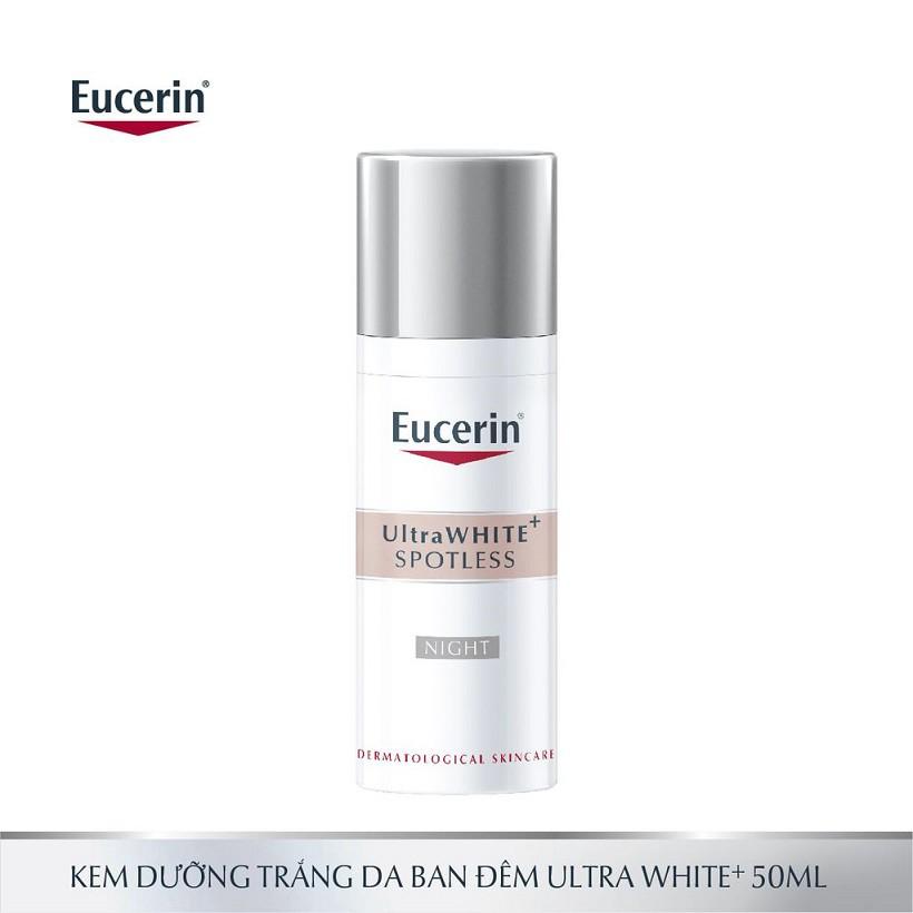 Kem dưỡng trắng da ban đêm Eucerin Ultra White NIGHT 50ml