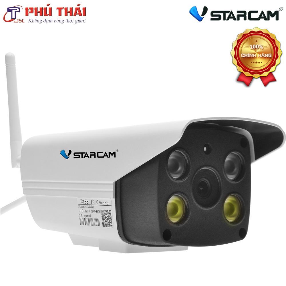 [Phutthai.vn] Camera giám sát ngoài trời C18s Full 1080P - Vstarcam