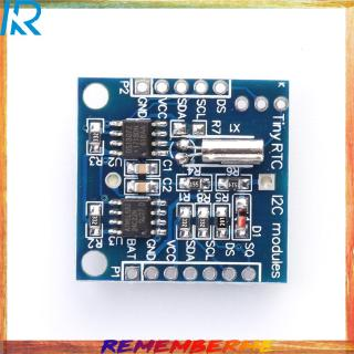 [Mã ELCB1111 giảm 20% đơn 50K] [rem]★Tiny RTC I2C Modules 24C32 Memory DS1307 Real Time Clo RTC Module Board