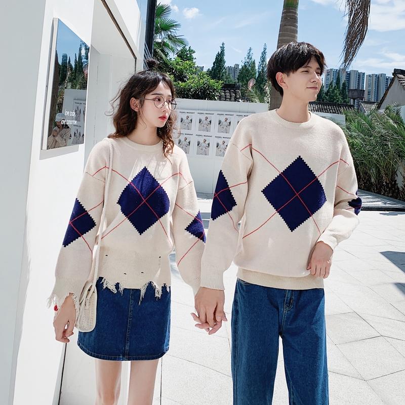 Bộ Áo Sweater Ấm Áp + Chân Váy Xinh Xắn Dành Cho Các Cặp Đôi