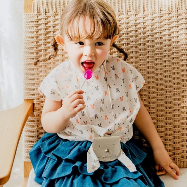Set Thỏ Baby bao gồm chân váy và áo Thỏ