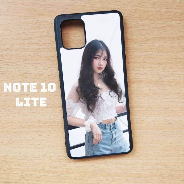 Ốp lưng Samsung Galaxy Note 10 Lite in hình theo yêu cầu