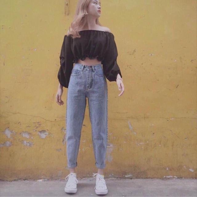 Quần jeans boy trơn (kèm ảnh thật)