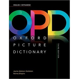 Từ điển minh họa _Oxford Picture Dictionary 3rd Edition: English - Vietnamese Edition