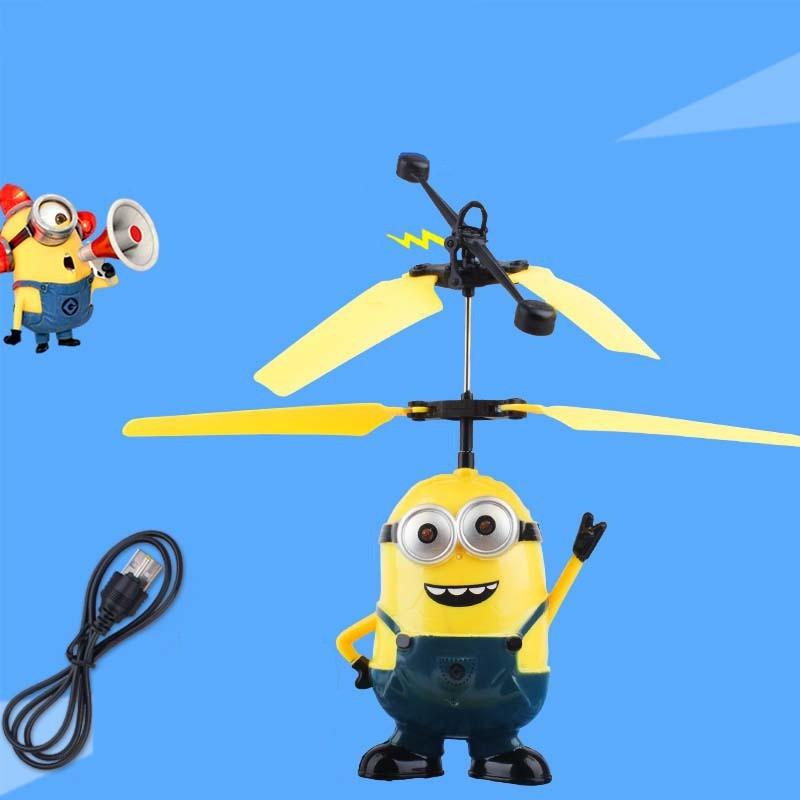 [Mã TOYCB7 hoàn Hoàn 20K Xu xu đơn Đơn Từ 50K] Máy bay đồ chơi kiểu dáng Minion xinh xắn dễ thương
