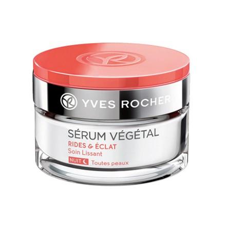 Kem trẻ hóa đêm giảm nhăn sáng da Serum vegetal Wrinkles & Radiance ( Rides& Eclat) Yves Rocher pháp