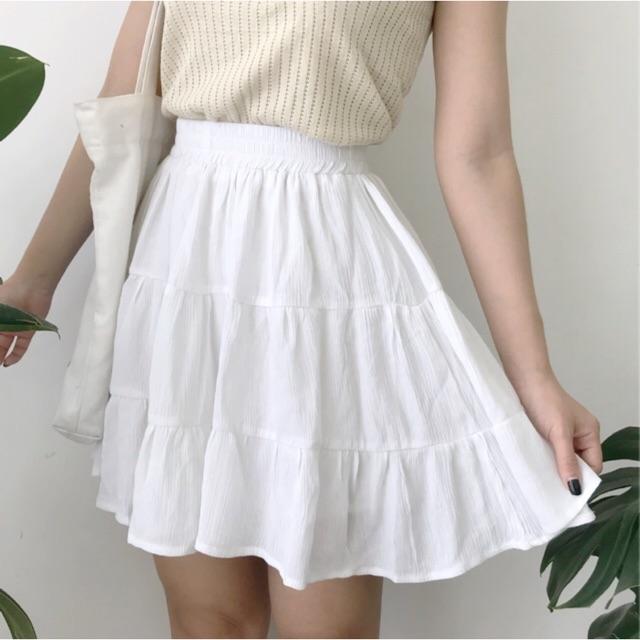 Váy xoè lưng chun