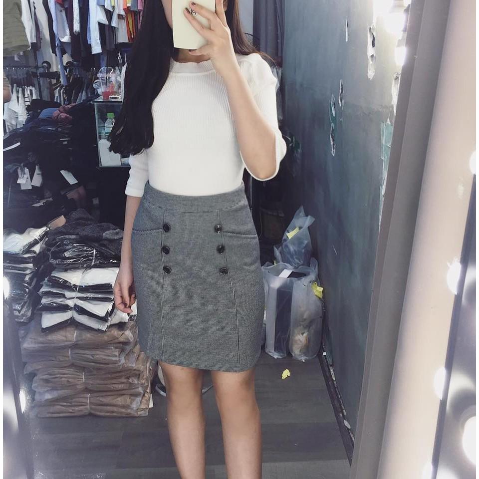 Chân váy dạ Zara - VNXK