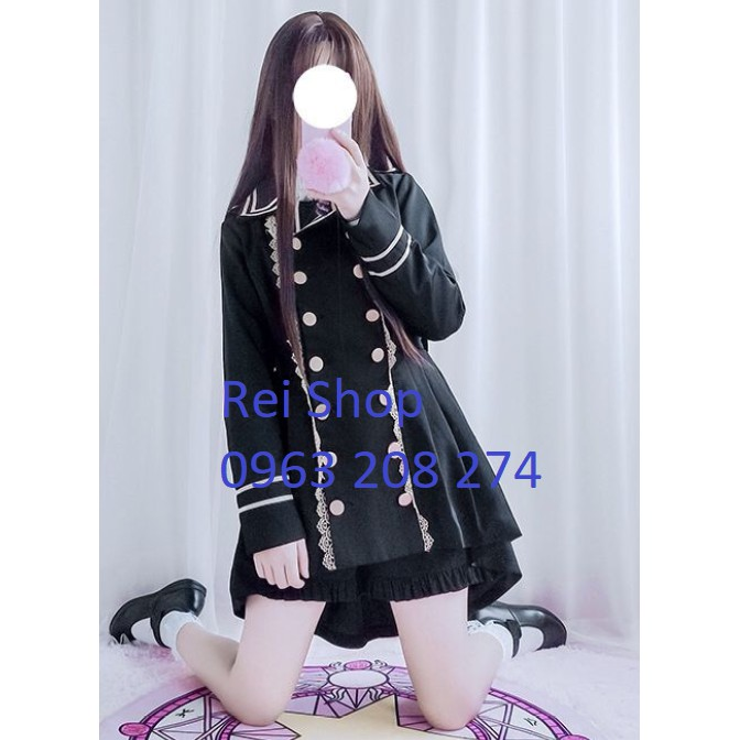Áo khoác + quần kiểu dáng Lolita - Ouji Lolita