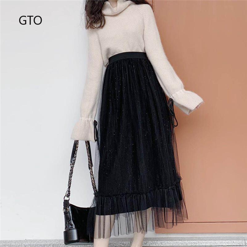 Chân váy dài dáng xòe thời trang nữ tính