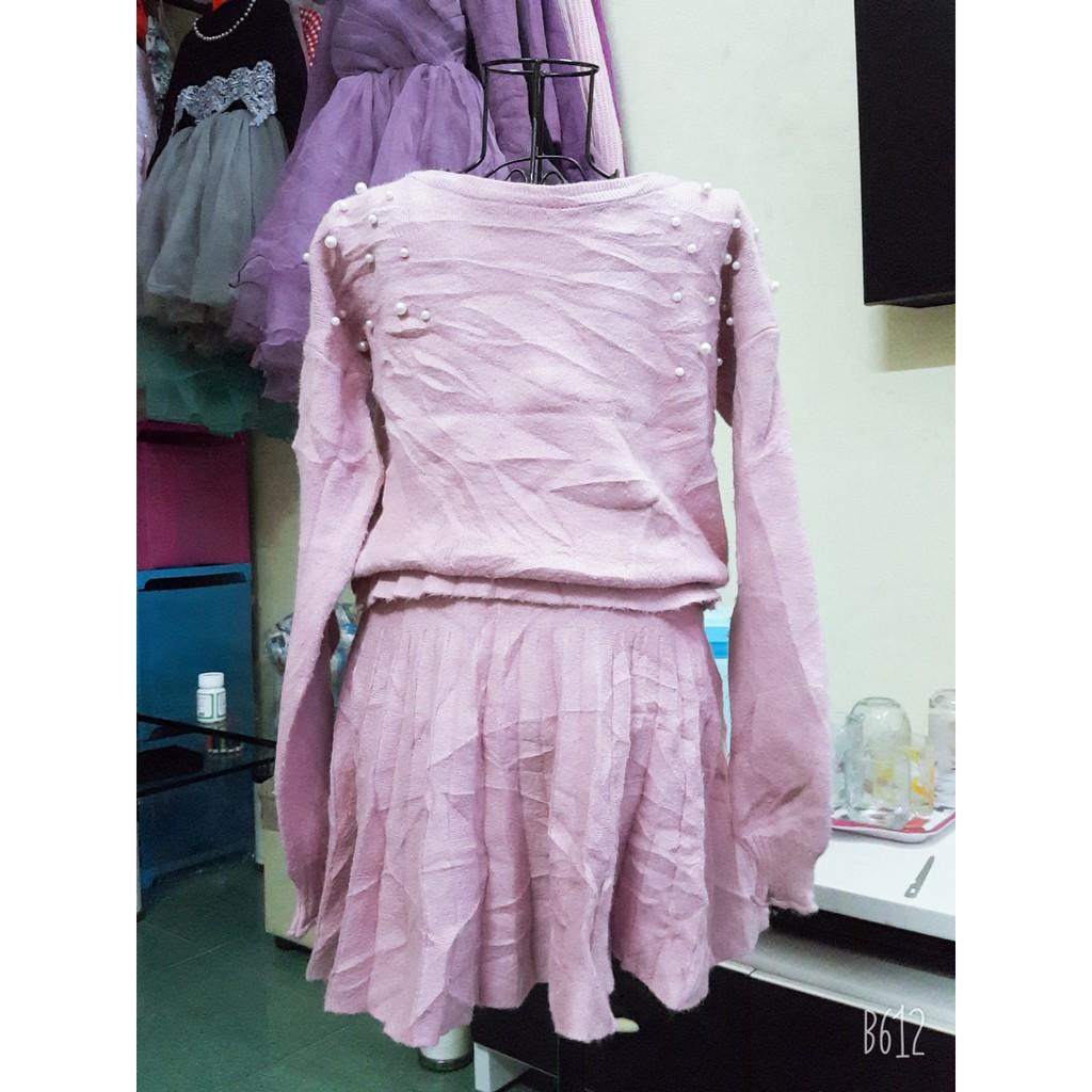 Set áo chân váy si tuyển cho bé 17-20kg