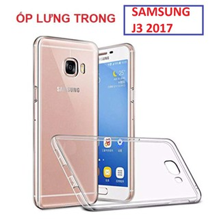 Ốp lưng SS Galaxy J3 2017 silicon dẻo, trong suốt