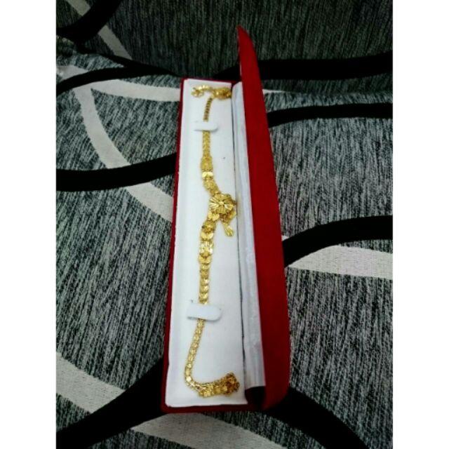 Hộp đựng dây chuyền vàng cao cấp bằng nhung do