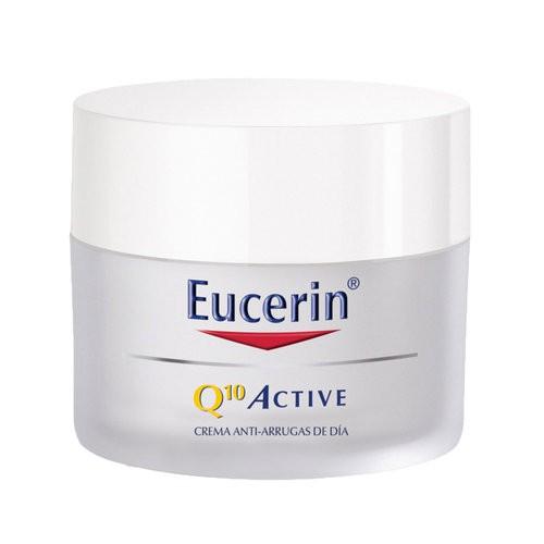 Kem Dưỡng Eucerin Hỗ Trợ Chống Lão Hóa Ban Đêm Cho Da Nhạy Cảm Q10 Active Cream 50ml