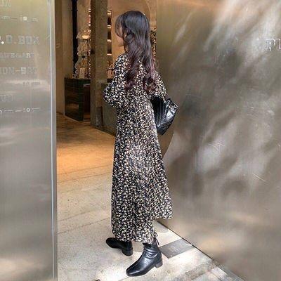 Chân Váy Dài In Hoa Kiểu Hàn Quốc Thời Trang Xuân Hè Cho Nữ