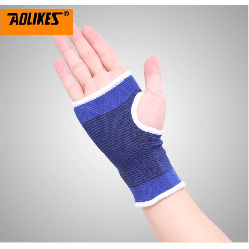 Găng tay hở ngón tập gym Aolikes A1276