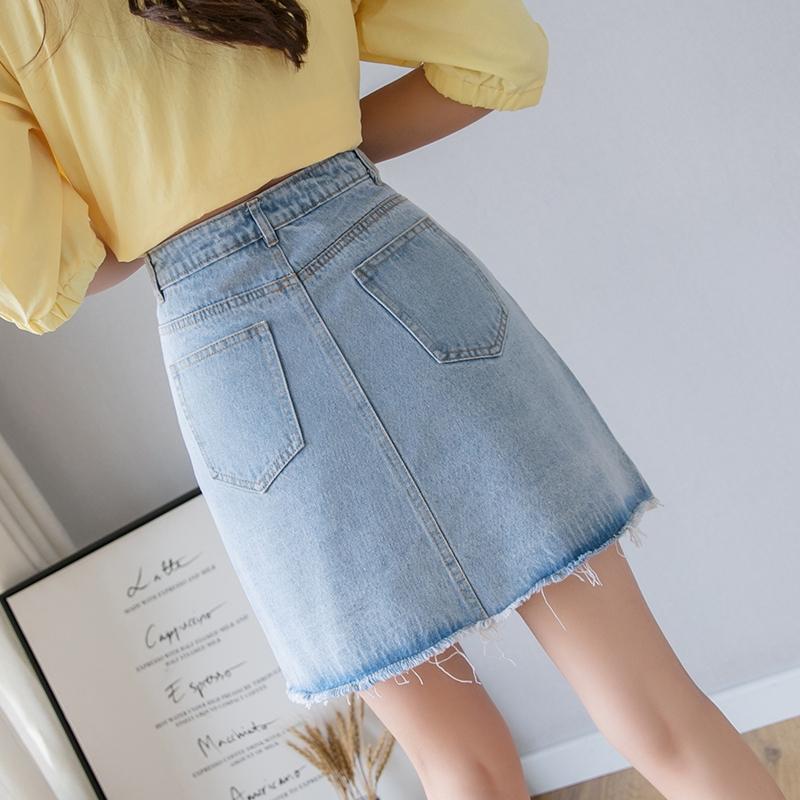 Chân Váy Jean Ngắn Thời Trang Nữ