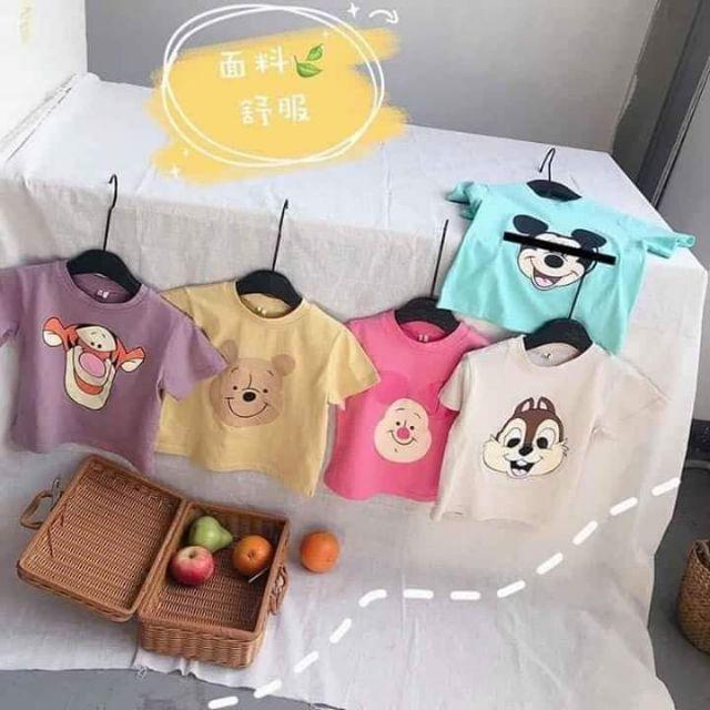 Set 5 áo thun cho bé