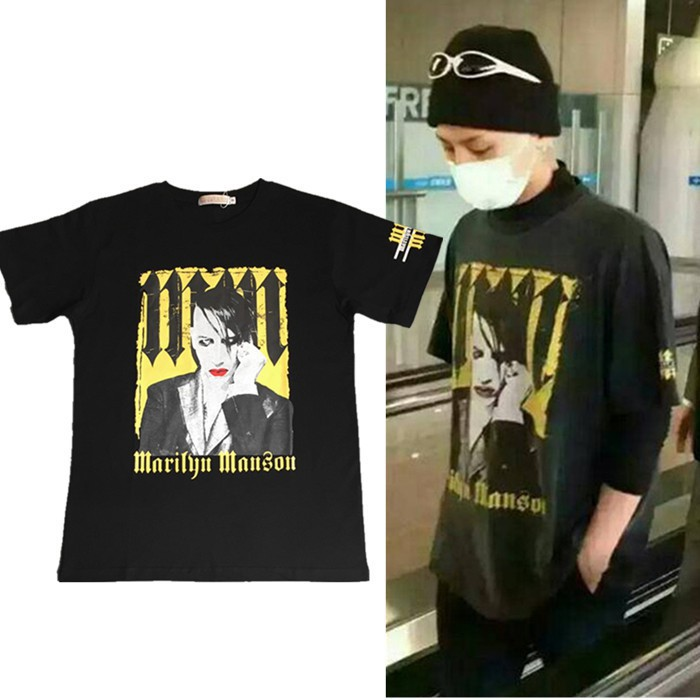 Áo thun nam ngắn tay BIGBANG phong cách Hàn Quốc