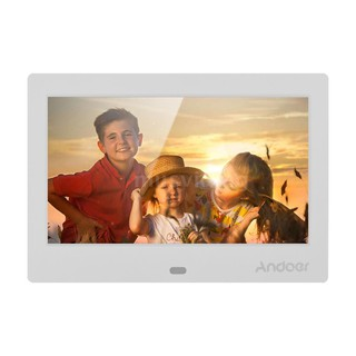 Andoer 7 Inch IPS HD Screen 1024*600 Digital Photo Frame Digital Album Support Music Video Playing Clock Alarm Calender