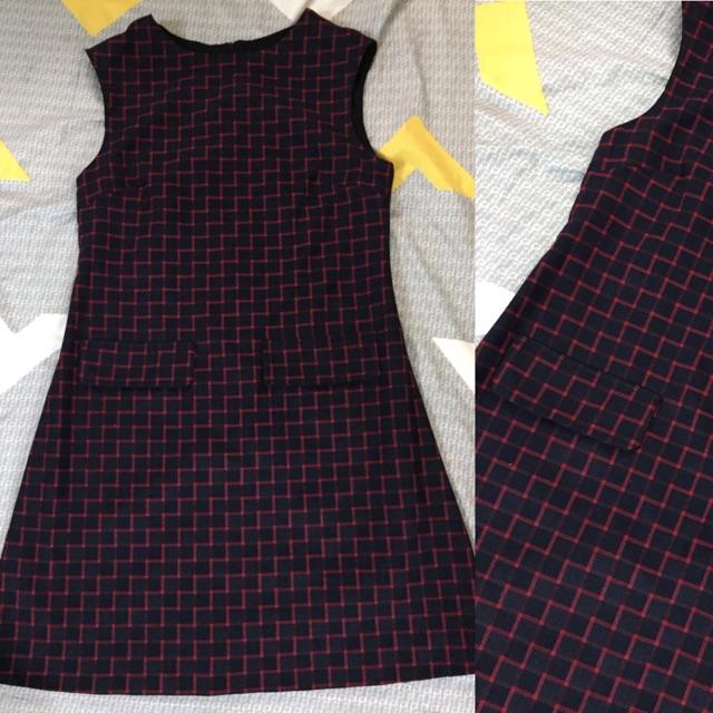 Đầm dạ mỏng suông A