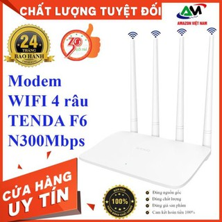 [WIFI TENDA 4 RÂU] Router wifi Tenda F6 Wireless N300Mbps