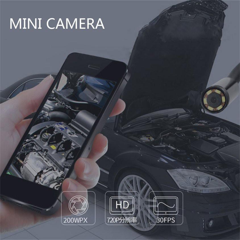 1m Camera nội soi chống nước thiết kế lens với kích thước 7mm 6LED