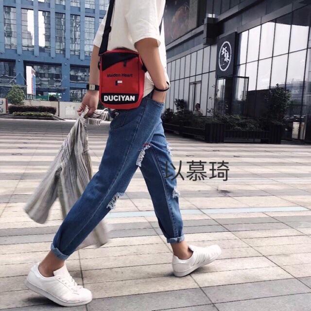 [FREESHIP99K] 1001- quần jean nam rách quảng châu size 27-34