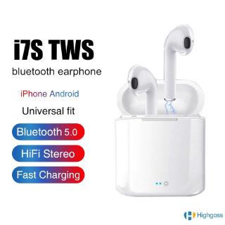 【COD】 i7s TWS air mini bluetooth 5.0 Wireless Headphone headset pods For IOS Android