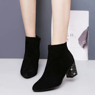 Boot nữ cổ ngắn(size 37)