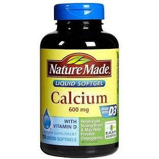Nature Made calcium 600mg 100v