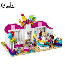 Lắp Ráp xếp hình Lego Friends 41132 Sheng Yuan SY838 Bela 10557: Shop Trang Trí Tiệc Laurie