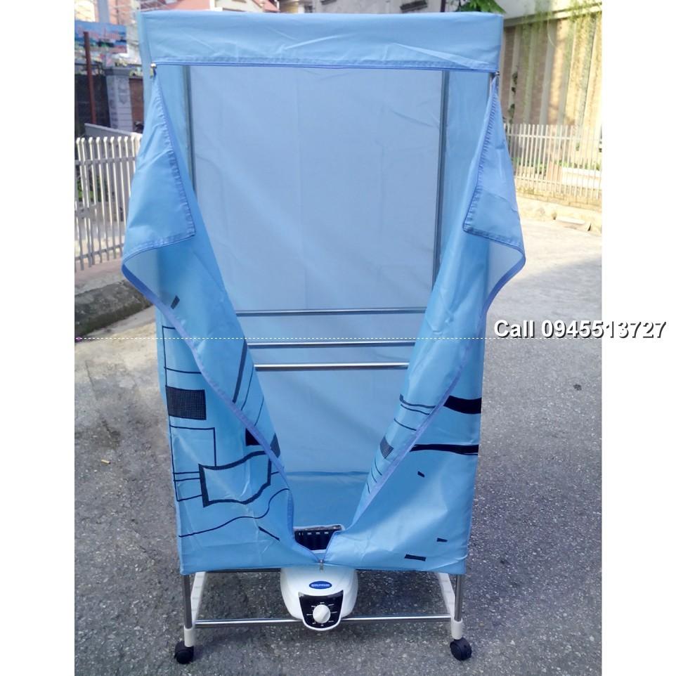 Bảo Hành 12Tháng Tủ sấy máy sấy quần áo DH X816R cơ thẳng