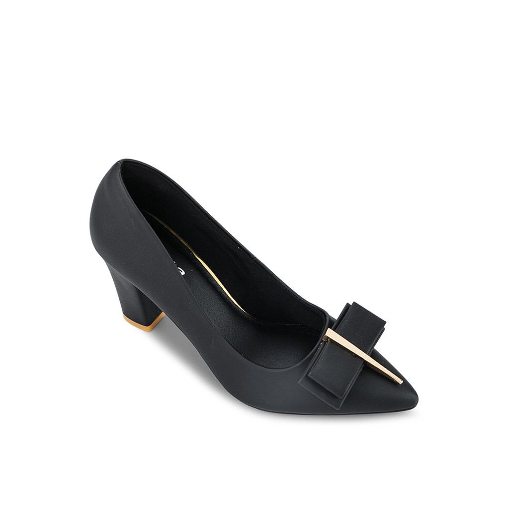 Giày công sở đính khóa dài Sentashoes KD1412