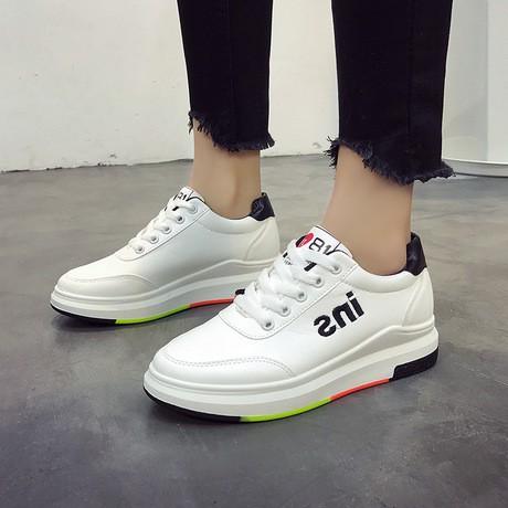 (XẢ HÀNG RẺ NHƯ CHO)SALE Giày Nữ Giày Sneaker INS giao màu ngẫu nhiên