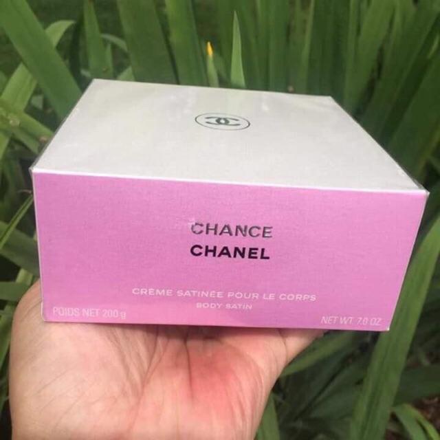 [Có sẵn]Dưỡng thể nước hoa toàn thân Chance Chanel Body Satin