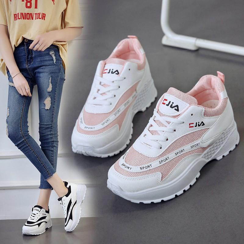 Giày Thể Thao Nữ Thời Trang Hàn Quốc Năng Động
