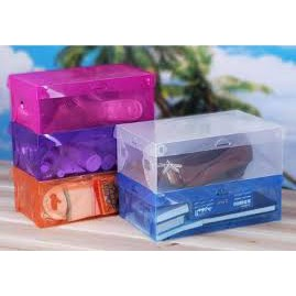 Combo10 hộp đựng giầy bằng nhựa trong suốt
