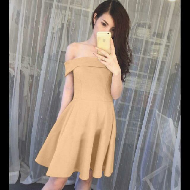 + Tên sản phẩm: Đầm Xòe Trễ Vai Dễ Thương Có Túi+ Kiểu dáng thời trang, hiện đại.+ Màu sắc: Hồng+