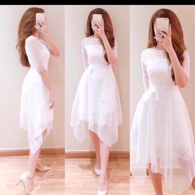 váy thiết kế cao caaspmặc đuoc 2 kiểu đi tiệc đi chơi ok hết nhé ;)